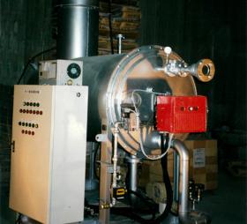 高温炭化物処理炉
